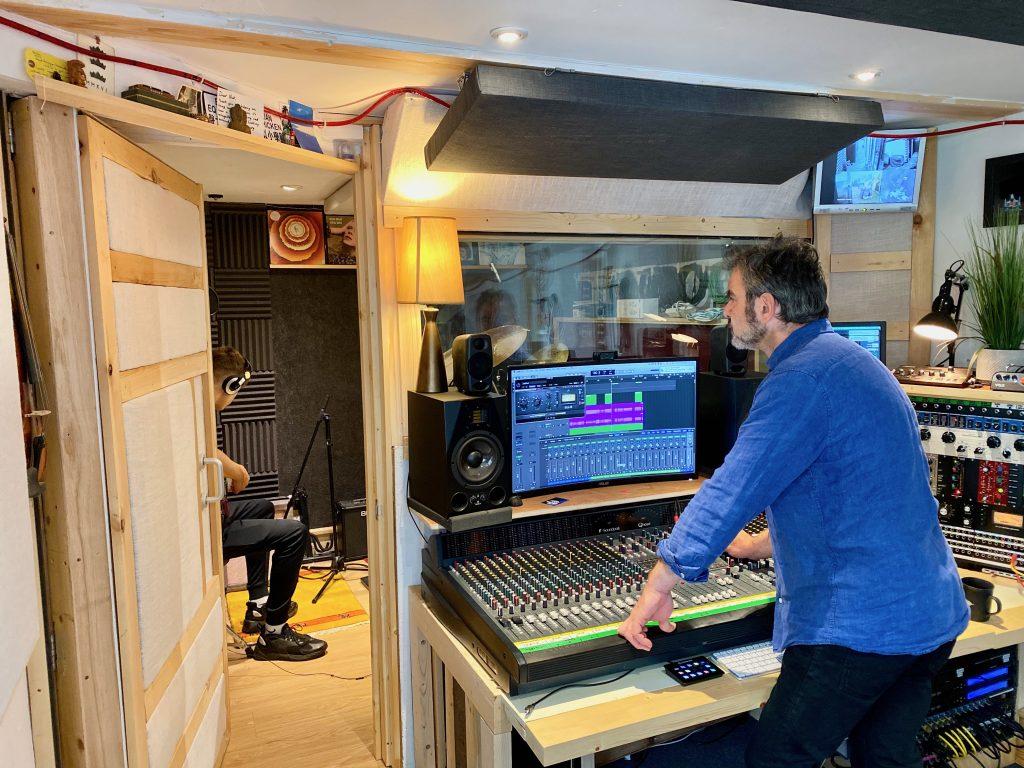 Nick Sagar at 3507 Studio Recording