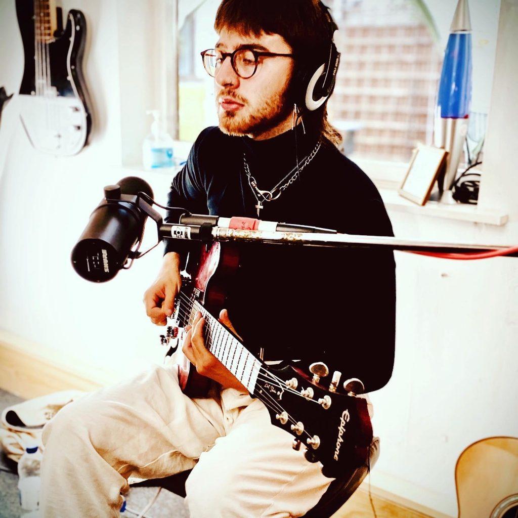 Joe from Sugarstone recording